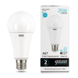 Лампа Gauss LED Elementary A26 25W Е27