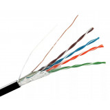 Кабель FTP4Cat5e 24AWG Сu PE(outdoor) AVS Electronics(2x305m)
