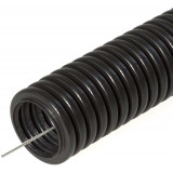 Гофротруба ПНД D20 мм (черная)