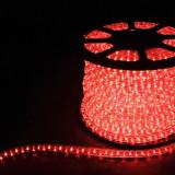 Дюралайт светодиодный Feron LED-F3W 3-х жильный (красный) 2,88Вт/м 72LED/м 50м 220V