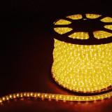 Дюралайт светодиодный Feron LED-F3W 3-х жильный (желтый) 2,88Вт/м 72LED/м 50м 220V