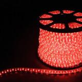 Дюралайт светодиодный Feron LED-R2W 2-х жильный ( красный) 1,44Вт/м 36LED/м 100м 220V