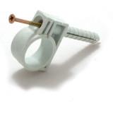 Хомут для труб и кабеля d-15-16 мм (50 шт)
