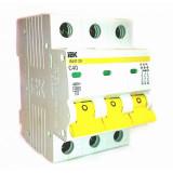 Автоматический выключатель ВА47-29 3Р 40А 4,5кА х-ка С