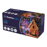Гирлянда Экономка POSITIVE PLUS 50 LED, 5м, многоцвет.