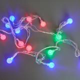 Гирлянда _WLZ _F5 _фигурная (шарики) _4м, 20 ламп
