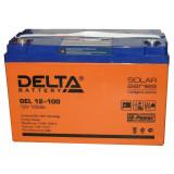 Аккумуляторная батарея DELTA  GEL 12-100 (12В 100Ah)