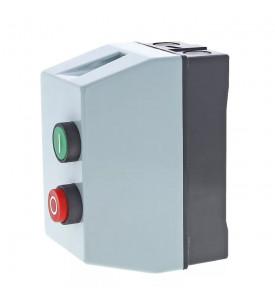 Пускатель магнитный 12 А катушка управления 220 В АС 1 НО+1НЗ  LCID
