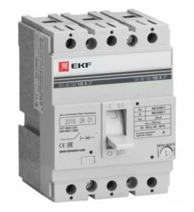 Выключатель автоматический ВА-99 160/160А 3P 35кА EKF Proxima