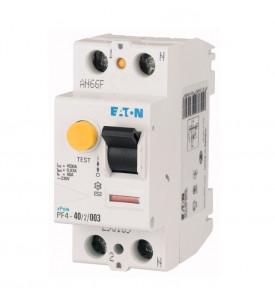 Выключатель диф. тока 2п 2мод. 25А 30мА тип AC 4.5кА PF4
