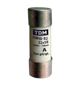Плавкая вставка ПВЦ-В2 22х58 125А TDM