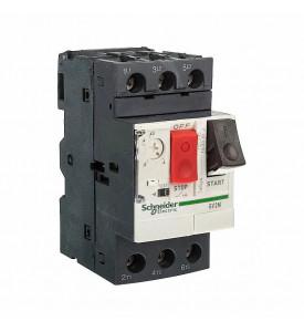 Выключатель автоматический для защиты электродвигателей 4-6 3А GV2 управление кнопками