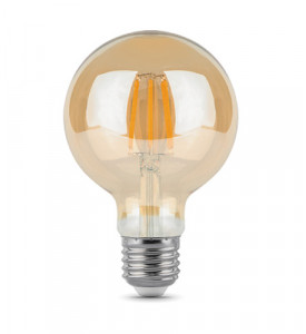 Лампа Gauss LED Filament G95 E27 6W 2700K