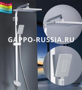 Душевая стойка Gappo G2408-8
