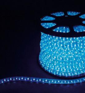 Дюралайт светодиодный Feron LED-F3W 3-х жильный (синий) 2,88Вт/м 72LED/м 50м 220V