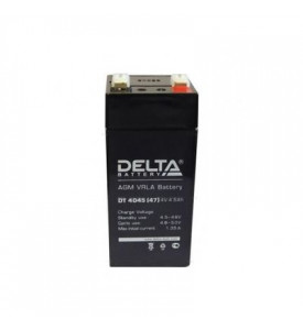 Аккумуляторная батарея DELTA  DT 4045 (4V 4,5Ah) (47x47x101/105)