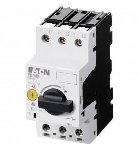 PKZM0-6,3 Автомат. выкл. защиты двигателя 6,3А, 3P, откл.способность 150кА,диапазон уставки 4...6