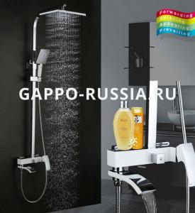 Душевая стойка Gappo G2407-8