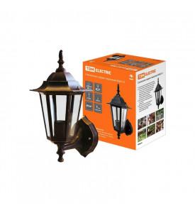 Светильник садово-парковый 6060-11-Х1 (силумин) бронза верехн. крепл. шестигранник TDM