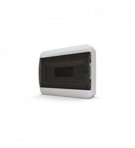 tekfor пластиковый РЩ BNK 40-12-1 прозрачная чёрная дверца