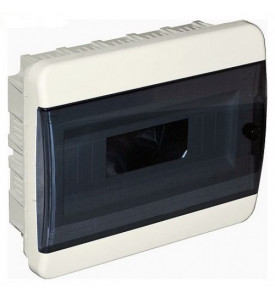 tekfor пластиковый РЩ BVK 40-12-1 прозрачная чёрная дверца