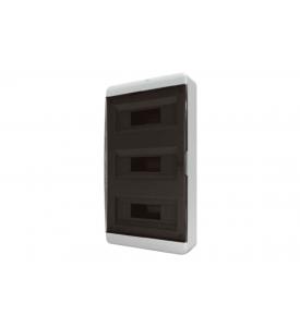 tekfor пластиковый РЩ BNK 40-36-1 прозрачная чёрная дверца