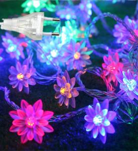 Гирлянда _WLZ _F3 _фигурная (цветок) _4м, 20 ламп