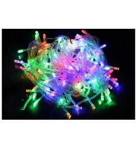 Гирлянда _WLZ _F№20 _D200M LED _(10м, 130 ламп) _цветная (D200 - M)