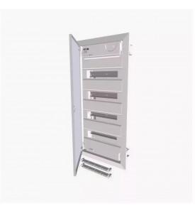 Щит Eaton  KLV-48UPS-F компактный, встраиваемое исполнение 4 ряда стальная дверь