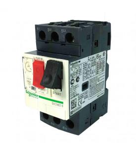 Выключатель автоматический для защиты электродвигателей 4-6.3А GV 2 управление кнопками