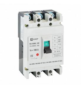 Выключатель автоматический ВА-99ML 100/80А 3P 18кА EKF