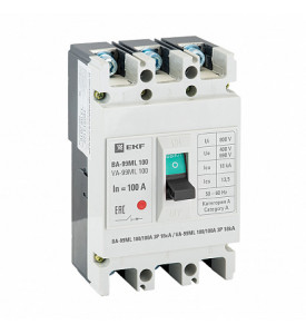 Выключатель автоматический ВА-99ML 250/200А 3P 20кА EKF