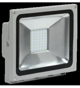 Прожектор светодиодный СДО 05-30 SMD IP65 серый IEK