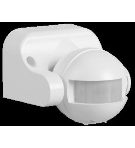 Датчик движения ДД 009 белый, макс. нагрузка 1100Вт, угол обзора 180град., дпльность 12м IP44 IEK