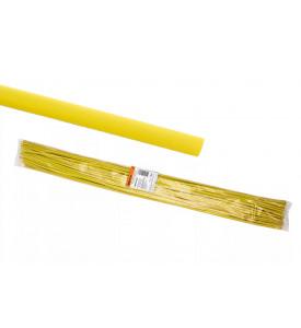 Термоусаживаемая трубка ТУТнг 8/4 желтая  по 1м (50 м/упак) TDM