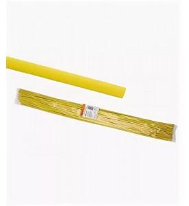 Термоусаживаемая трубка ТУТнг 10/5 желтая по 1м (50 м/упак) TDM