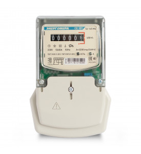 Электросчетчик 1 фазный  CE101 S6 145 M6  5-60А ( Навесной ) Энергомера