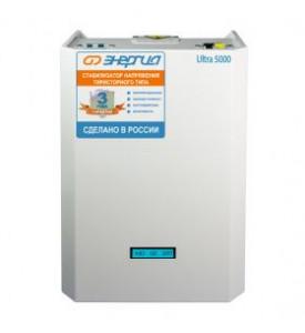 Cтабилизатор ЭНЕРГИЯ Ultra 5000 ВА тиристорный однофазный
