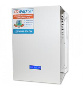Cтабилизатор ЭНЕРГИЯ Ultra12000 ВА тиристорный однофазный