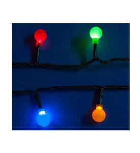 Гирлянда LED Uniel «Разноцветные шарики» с контроллером, 5,4 м. 60 св. цветная