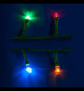 Гирлянда LED Uniel  MULTI с контроллером, 2,8м. 20 св. цветная