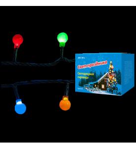 Гирлянда LED Uniel «Разноцветные шарики» с контроллером,2,8 м. 20 св. цветная