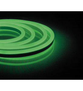 Cветодиодная неоновая LED лента Feron LS720(зеленый)120SMD(2835)/м 9.6Вт/м 50м IP67 220V